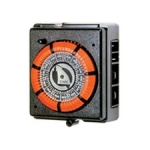 PB800 Series, 7-Day Mechanical Timer w/ SPST Switch, 120V