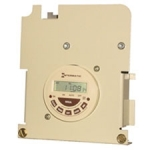 P7000ME Series, 24-Hour Electronic Time Switch Mechanism DPST (30A, 3HP, Dual Voltage)
