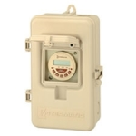 P1000 Series, 24-Hour Electronic Time Switch in Enclosure