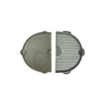 Half Moon Cast Iron Griddle for Oval Junior