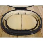 Ceramic Heat Reflector Plate for Oval Junior (2 per box, Roaster Drip Pan Racks Required)