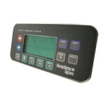 Sundance Spas Electronic Spa Controls, Topside 850 Maxxus Control Panel (3 Pump System with Remote)