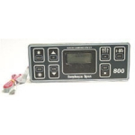 Sundance Spas Electronic Spa Controls, Topside 800 Control Panel 1-Pump