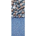 "Swimline 8' X 12' Oval Ocean Rock Overlap Liner, 48-52"" Depth, Heavy Gauge (Click for more sizes)"