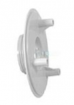 AquaStar 4 in Sumpless Bulkhead Fitting with 1.5 in MPT WHITE