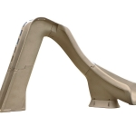 SR Smith Typhoon Right Turn Pool Slide -  Sandstone