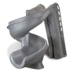 SR Smtih heliX 360 degree Pool Slide Gray Granite