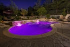 J&J ColorSplash XG Series Color LED Pool Light, 120V 30' Cord