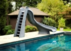 SR Smith Turbo Twister Pool Slide Right Curve Gray Granite ETA 2 weeks