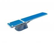 SR Smith TrueTread Series Diving Board - 6' White with Blue Top Tread
