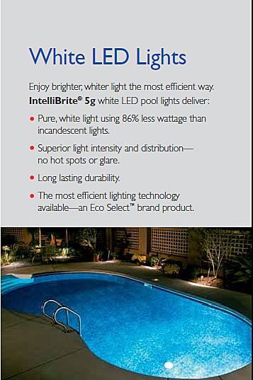 Pentair Intellibrite 5g White Led Spa Light 12v 30ft Co