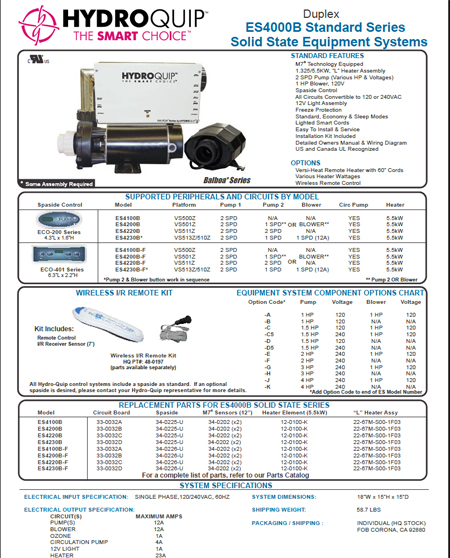 Es4200b Solid State Equipment Systems  Spaside Eco