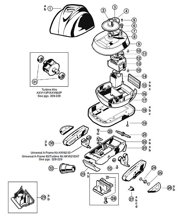 turbo tiger vacuum diagram