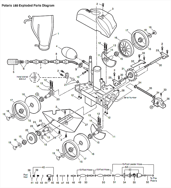 polaris 360 hose diagram polaris get free image about wiring diagram