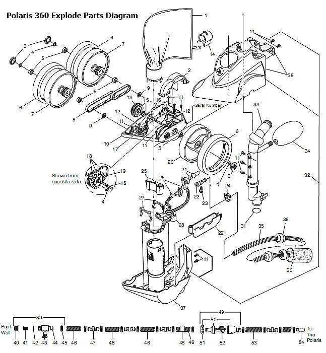 25 Polaris 360 Parts Diagram