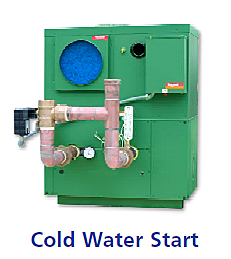 Raypak Hi Delta Commericial Pool Heater W Cold Water Run