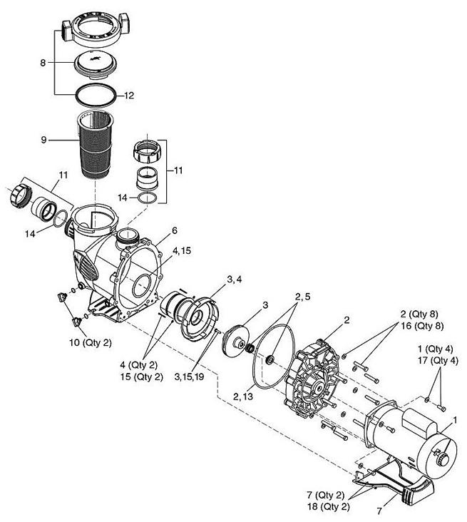 Jandy Plushp Series Pump