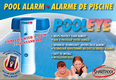 Pooleye Pool Alarm Immersion System Pe23 With Remote For