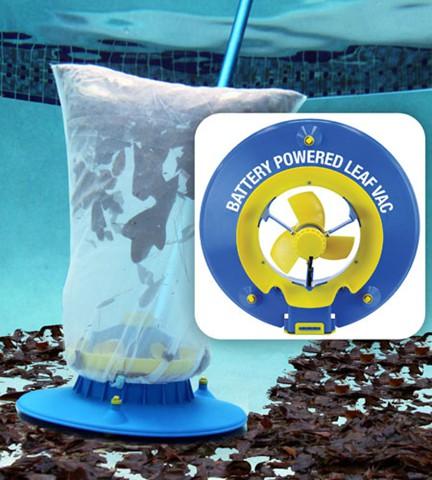 WATER TECH POOL BLASTER LEAF VAC BATTERY POWERED LEAF VACUUM