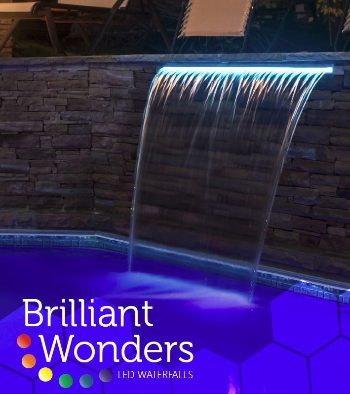 Brilliant Wonders Led Waterfalls 18 In T