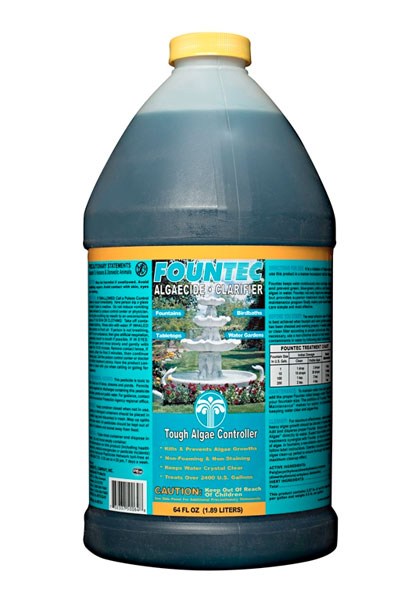 Fountain algaecide and clarifier 64 oz pool pump motor for Easy care pool products