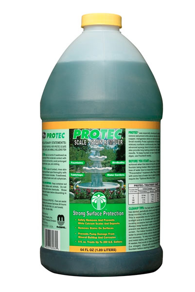 Protec scale and stain preventative and remover 64 oz for Easy care pool products