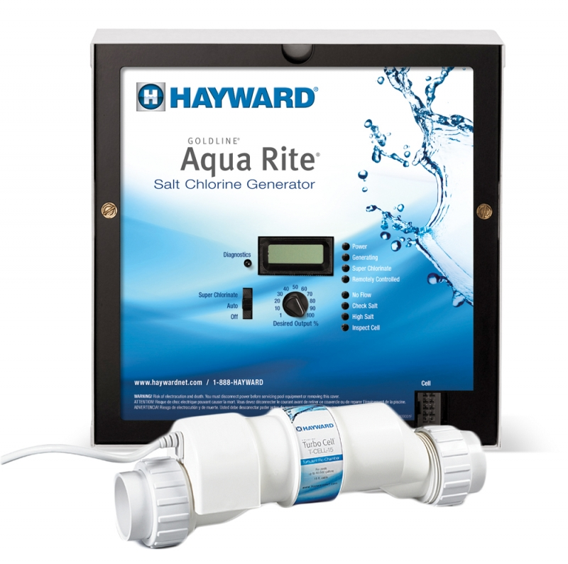 Aqua Rite Salt Chlorine Generator 40k Gallons With T Cell
