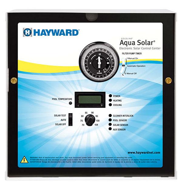 Goldline Aqua Solar Pool Controller With Lv Amp Hv Output