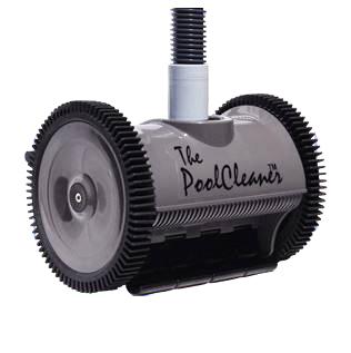 Poolvergnuegen PoolCleaner 2-Wheel Inground Suction Side Cleaner Dark Gray