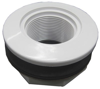 Locknut Inlet Fitting For Vinyl Fiberglass Poo