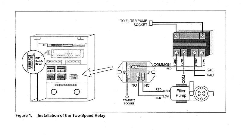 6796 2SP RELAY jandy 2 speed relay swit jandy spa side remote wiring diagram at aneh.co