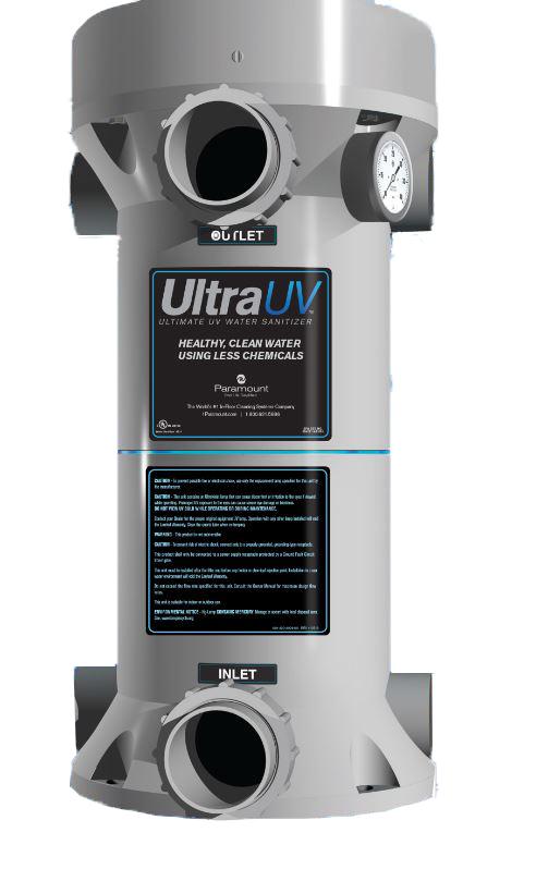 Paramount Ultraviolet Water Sanitizer System 1 Lamp 120v