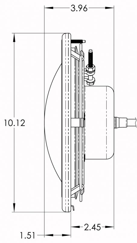 Pentair Intellibrite 601010 5g Color Led Pool Light 12v 30ft Cord
