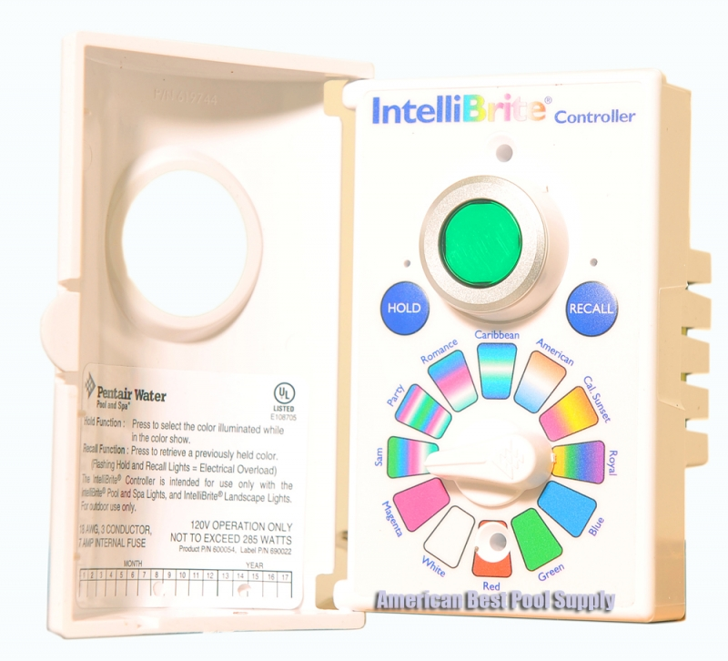 Pentair Intellibrite Controll