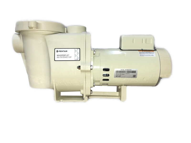 Pentair WhisperFlo Pump WFE-8 011515 2 HP FULLRATED E.E. 230v Single on pentair superflo wiring diagram, hayward super ii wiring diagram, flow switch wiring diagram, pentair challenger pump wiring diagram,