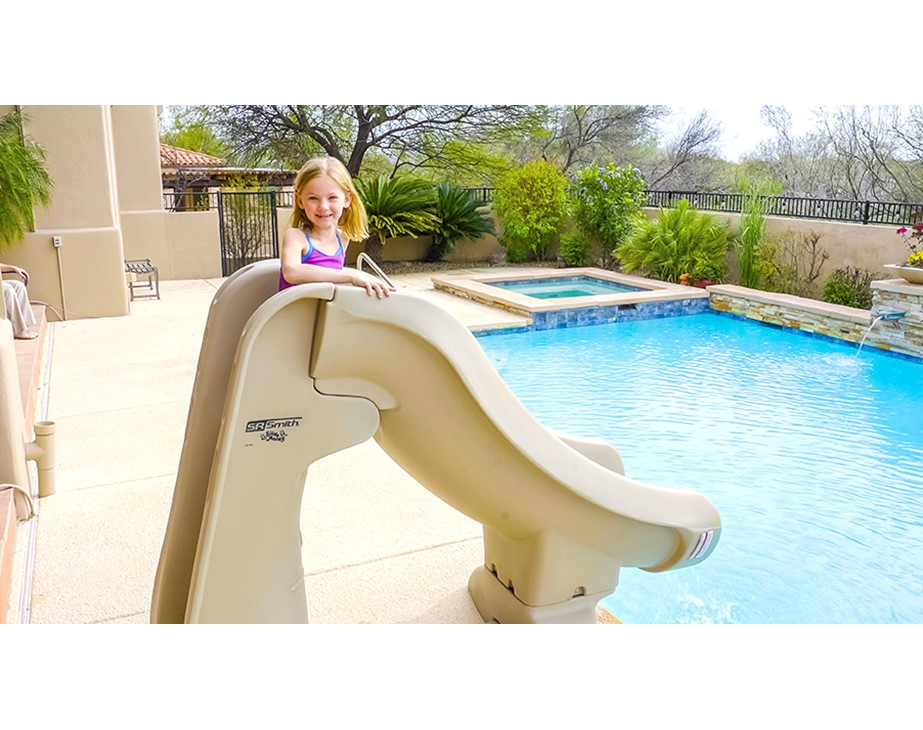 Slideaway Removable In Ground Pool, Portable Water Slide For Inground Pool