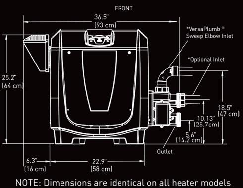Jandy Pool Heater Jxi26