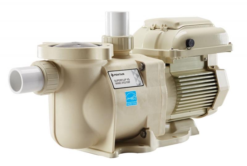 Superflo vs variable speed pump tefc motor 1 5 hp 115 for Pentair pool pump motors