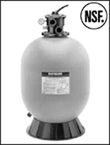 Hayward sand filter Pro Series 16 in. include Valve