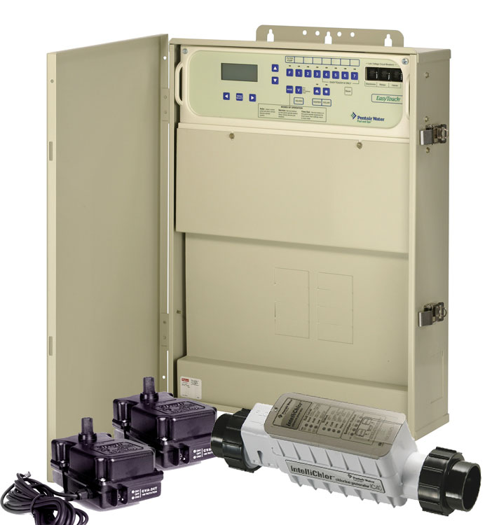 EasyTouch 4SC-IC40 pool/spa combination with chlorine system