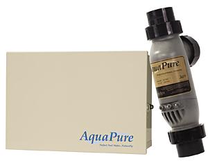 Aquapure Salt Chlorine Generator With Plc1400 Cell Kit 40k