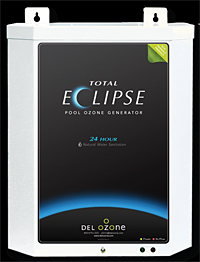 Del Ozone Total Eclipse 24 Hour Operation 220v For 50k Gallon With Built In Pu