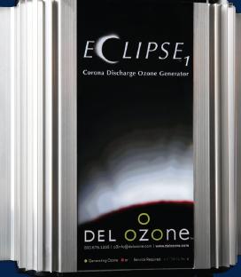 DEL Ozone ECLIPSE NEW GENERATION Corona Discharge Ozonator 25-100K Gallons