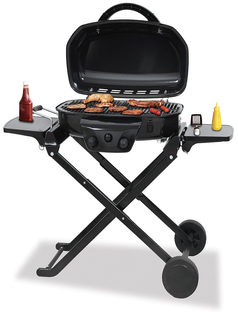 Deluxe Outdoor Lp Gas Barbecue Grill Blue Rhi