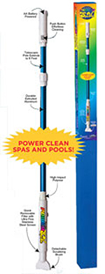 Paradise Power Spa Vac Cleaner for pools and spas