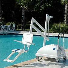 PAL Hi/Lo with armrests in-ground & above deck Pool/Spa up to 48 in.