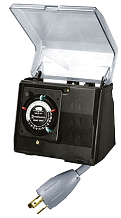 Intermatic above ground pool portable outdoor tim - Above ground swimming pool pump timer ...