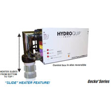 "CS4109 Solid State ""SLIDE"" Control Systems w/ Rectangle Spaside, Gecko Series, w/ 5.5kw heater"