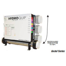 """CS9700 Deluxe Series Solid State """"SLIDE"""" Control Systems, w/ 5.5 KW 15"""" Heater Assembly"""